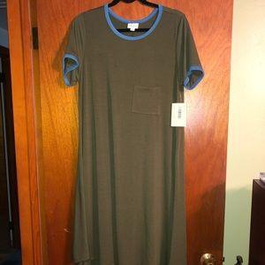 NWT - Lularoe Carly T-shirt dress